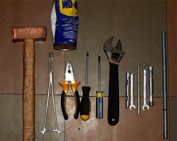 Инструменты для снятия подшипника